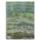 Claude Monet | The Japanese Footbridge, 1899 Notebook
