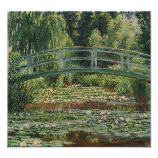 Claude Monet - The Japanese Footbridge Photo