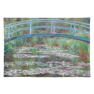 Claude Monet The Japanese Footbridge Placemat