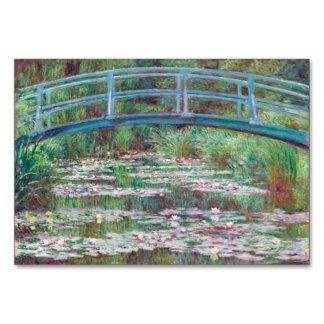Claude Monet The Japanese Footbridge Table Cards