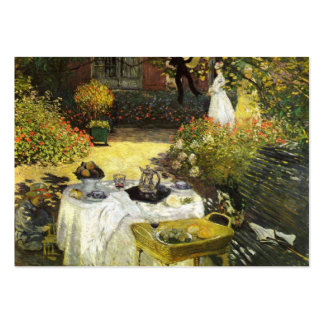 Claude Monet: The Lunch Pack Of Chubby Business Cards