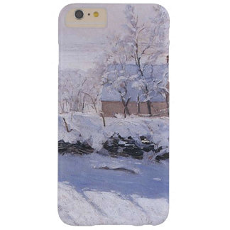 Claude Monet-The Magpie Barely There iPhone 6 Plus Case