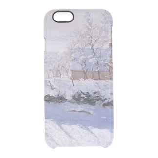 Claude Monet-The Magpie Clear iPhone 6/6S Case