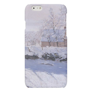 Claude Monet-The Magpie iPhone 6 Plus Case
