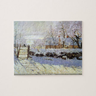 Claude Monet - The Magpie Jigsaw Puzzle