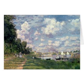 Claude Monet | The Marina at Argenteuil, 1872 Card