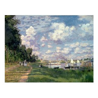 Claude Monet   The Marina at Argenteuil, 1872 Postcard
