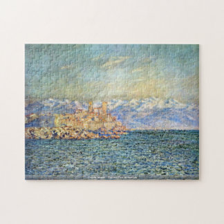 Claude Monet - The old Fort in Antibes Jigsaw Puzzle
