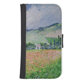 Claude Monet | The Poppy Field near Giverny, 1885 Samsung S4 Wallet Case