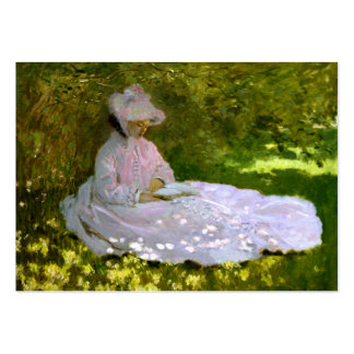 Claude Monet: The Reader Large Business Cards (Pack Of 100)