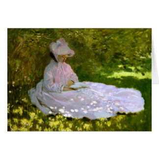 Claude Monet: The Reader Card