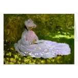 Claude Monet: The Reader Greeting Card