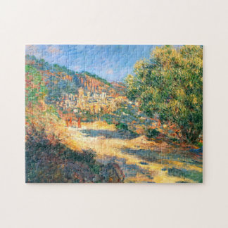 Claude Monet: The Road to Monte Carlo Jigsaw Puzzle