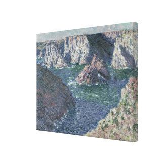 Claude Monet | The Rocks at Belle-Ile, 1886 Canvas Print