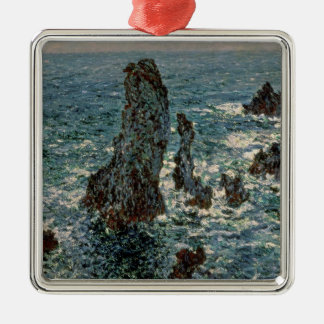 Claude Monet | The Rocks at Belle-Ile, 1886 Christmas Ornament
