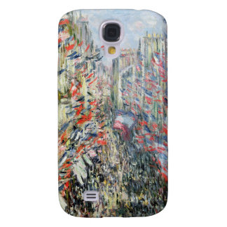 Claude Monet | The Rue Montorgueil, Paris Galaxy S4 Case