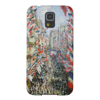 Claude Monet | The Rue Montorgueil, Paris Galaxy S5 Case