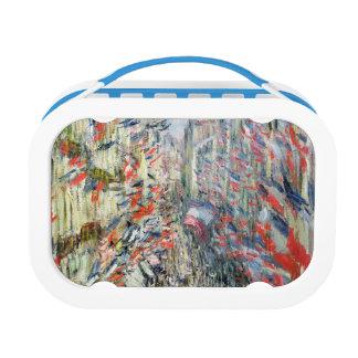 Claude Monet | The Rue Montorgueil, Paris Lunch Box