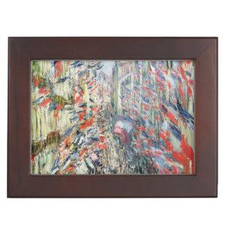 Claude Monet | The Rue Montorgueil, Paris Memory Box