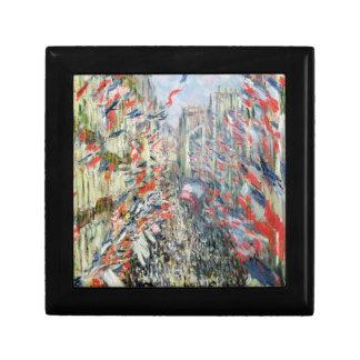 Claude Monet | The Rue Montorgueil, Paris Small Square Gift Box