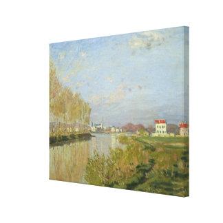 Claude Monet | The Seine at Argenteuil, 1873 Canvas Print