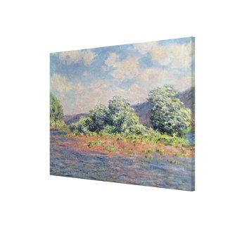 Claude Monet | The Seine at Port-Villez, c.1890 Canvas Print