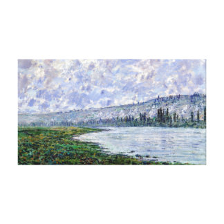Claude Monet The Seine at Vétheuil Canvas Print