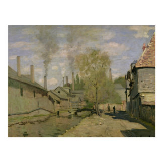 Claude Monet | The Stream of Robec at Rouen, 1872 Postcard