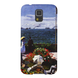Claude Monet-The Terrace at Sainte-Adresse Case For Galaxy S5