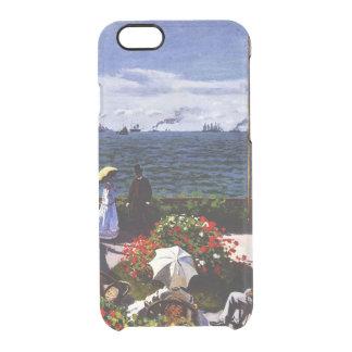 Claude Monet-The Terrace at Sainte-Adresse Clear iPhone 6/6S Case