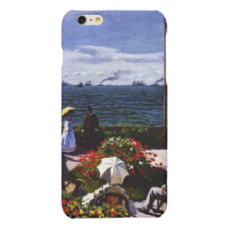 Claude Monet-The Terrace at Sainte-Adresse iPhone 6 Plus Case