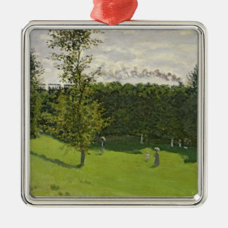 Claude Monet | The Train in the Country, c.1870-71 Christmas Ornament