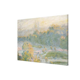 Claude Monet | The Tuileries  1875 Canvas Print