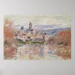 Claude Monet | The Village of Vetheuil, c.1881 Poster