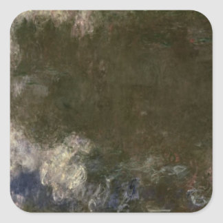 Claude Monet | The Waterlilies The Clouds, 1914-18 Square Sticker