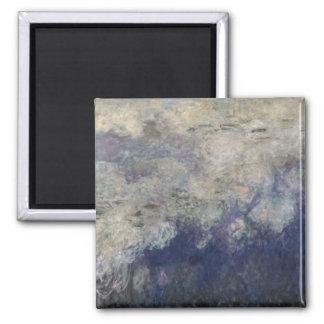 Claude Monet | The Waterlilies The Clouds 1915-26 Square Magnet
