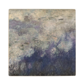Claude Monet | The Waterlilies The Clouds 1915-26 Wood Coaster