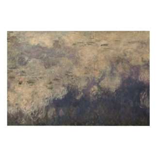 Claude Monet | The Waterlilies The Clouds 1915-26 Wood Wall Decor