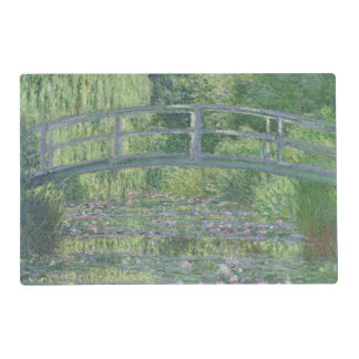 Claude Monet | The Waterlily Pond: Green Harmony Laminated Place Mat
