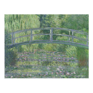 Claude Monet | The Waterlily Pond: Green Harmony Postcard
