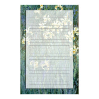 Claude Monet | The Yellow Irises Customised Stationery