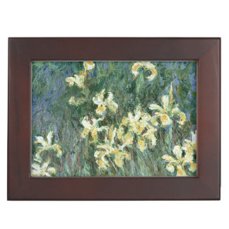 Claude Monet | The Yellow Irises Keepsake Box
