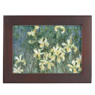 Claude Monet   The Yellow Irises Memory Boxes