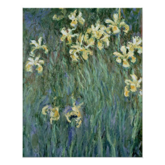 Claude Monet | The Yellow Irises Poster