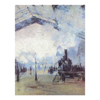 Claude Monet Train Station Flyer
