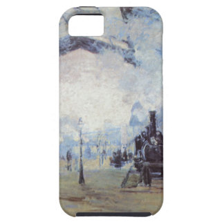 Claude Monet Train Station iPhone 5 Case