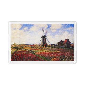 Claude Monet-Tulips Fields