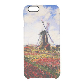 Claude Monet-Tulips Fields Clear iPhone 6/6S Case