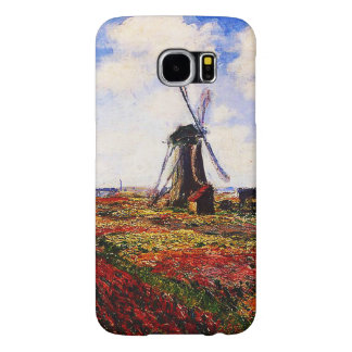 Claude Monet-Tulips Fields Samsung Galaxy S6 Cases