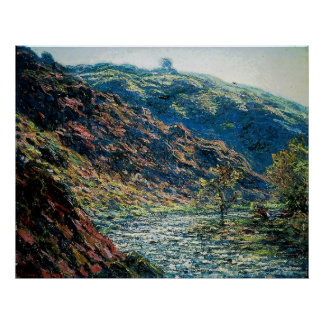 Claude Monet - Valley of the Petite Creuse Poster